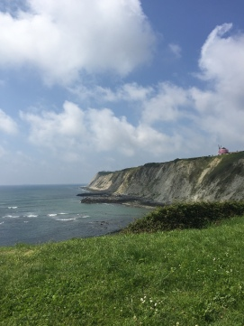Cliffside on Arrigunaga Beach