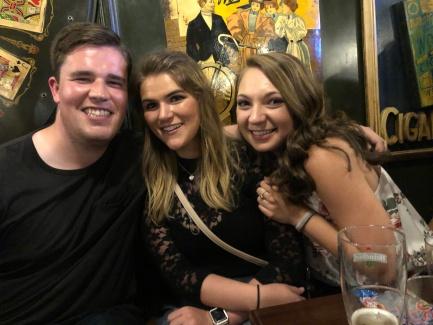 Joey, Dakota and I