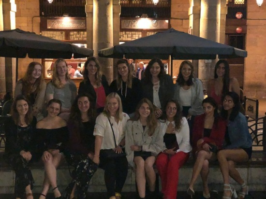The USAC ladies