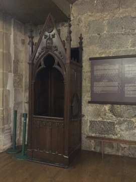 Ancient confessional