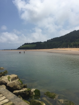 Second beach in Lekeitio