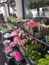 So many outdoor flower markets!