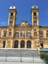 Government building in San Sebastian