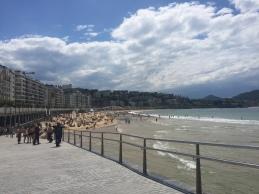 La Concha beach in San Sebastian