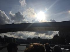 Bridge on our boat tour