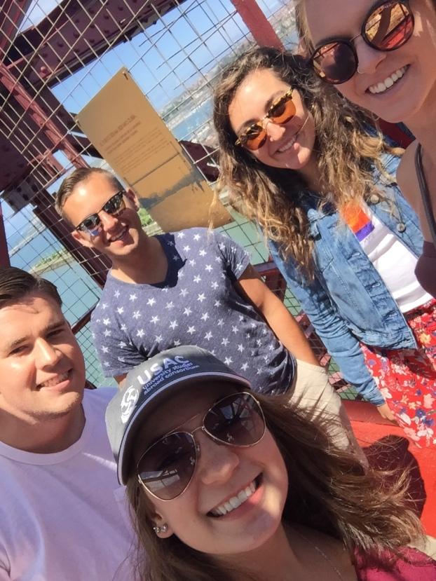 Selfie on the bridge