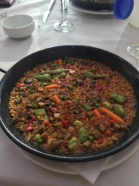 Paella for dinner! Yum!