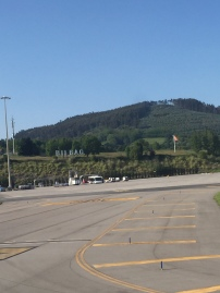 Bilbao airport for the first time