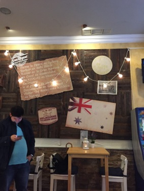 An Australian cafe we found