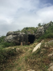 A man made cave