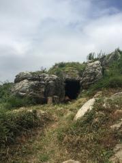 A man made cave