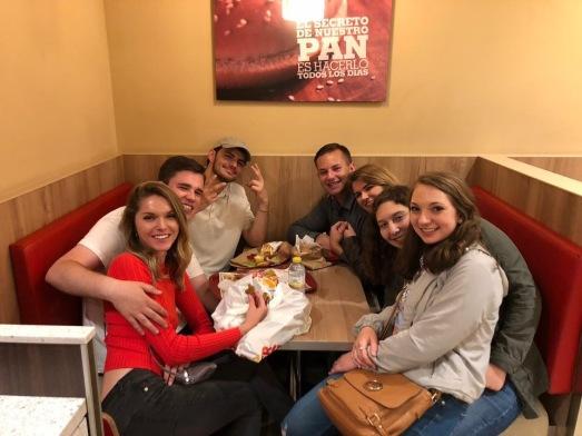 Late night at Burger King