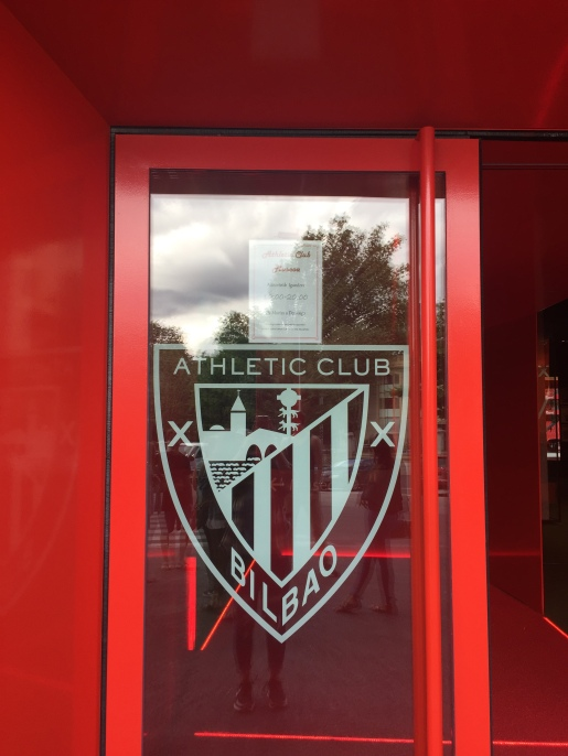 Athletic Bilbao - the local soccer team