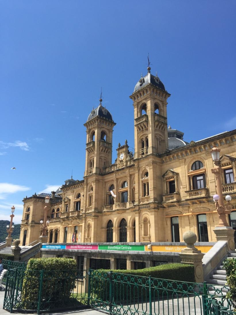 Library in San Sebastian