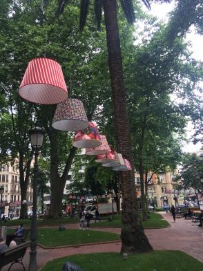 Light Festival in Bilbao