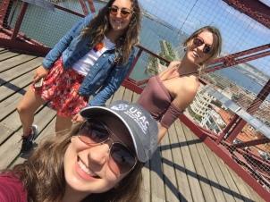 Megan, Laura, and I