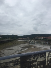 Very very low tide