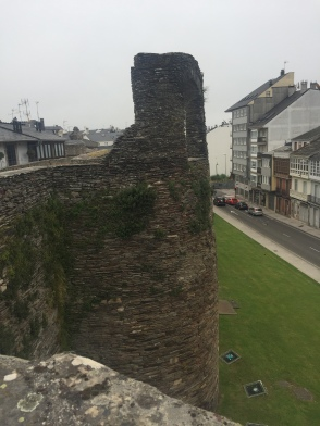 Original limestone walls