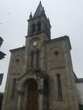 A church along the way