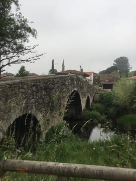 Bridge crossing into town