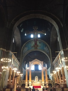 Altar in Westminster Cathedral