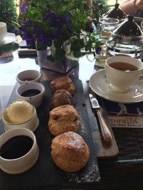 My selection of scones